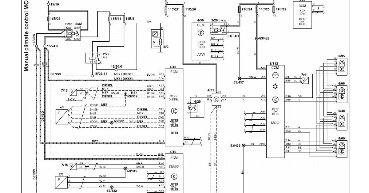 Wiring Diagram PDF: 2002 Volvo S60 Wiring Diagram