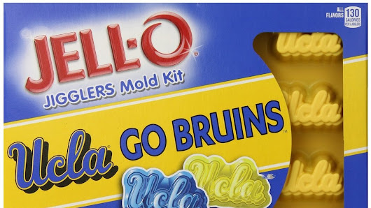 "Introducing ""Tailgating, UCLA Style"": JELL-O Debuts UCLA Mold Kit"
