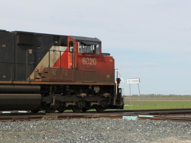 CN 8820 at Diamond