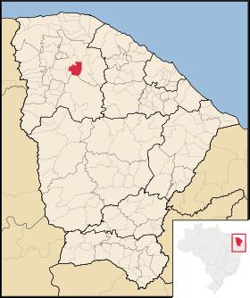 Localização de Forquilha