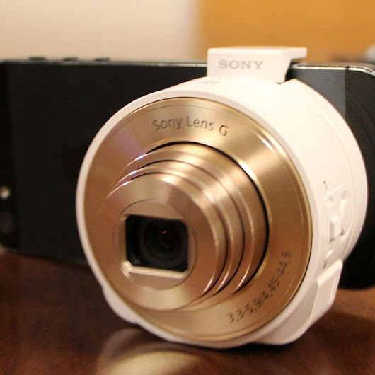 Sony Redefines 'Camera' With New 'Lens-Type' Cam