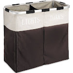 Whitmor Easy Care Double Hamper