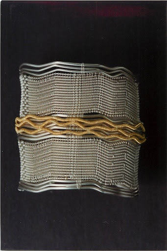 Cuff Bracelet | Barbara Patrick.  Silver and gold
