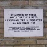 Lewisham Train Disaster