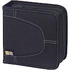 Case Logic CDW 16 16-Disc Padded CD/DVD Wallet - Black