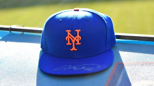"New York Mets on Twitter: ""RT to enter to win this signed @JdeGrom19 #Mets hat! #LGM """