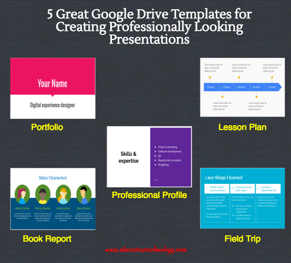 5 Great Google Drive Templates for Creating Professionally Looking Presentations