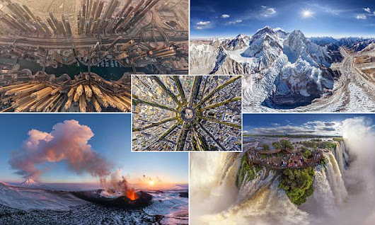 The world's most STUNNING landscapes as you've never seen them before