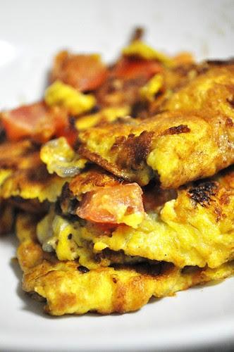 goose egg omelette