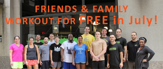 Friends & Family Workout for FREE in July | CoreTen Fitness