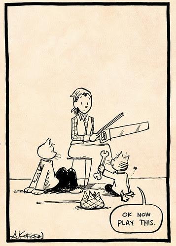 Laugh-Out-Loud Cats #2355 by Ape Lad
