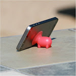 6 Pack - Piggy / The Original Piggy Cell Phone Stand 6-Pack / iPhone / Samsung / Traveling Cell Phone Stand / Cell Phone Holder / Cell Phone