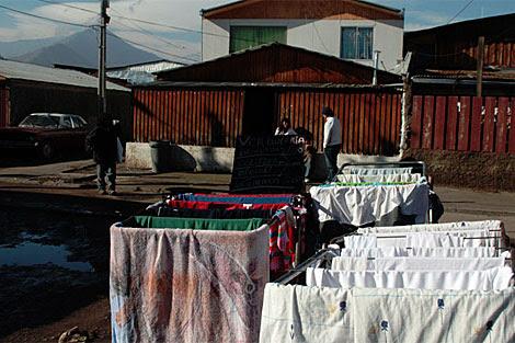 La Chimba, una de los cientos de poblaciones pobres de Santiago. | Jorge Barreno