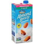 Almond Breeze - Original Unsweetened, 32 Ounce - 12 per case