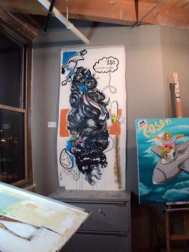 Yesterday's Losers: Art by Hebru Brantley at Lacuna Lofts