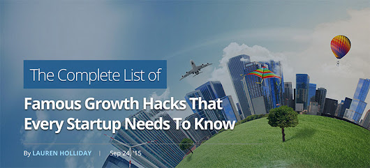 Growth Hacking Tactics That Every Startup Needs To Know
