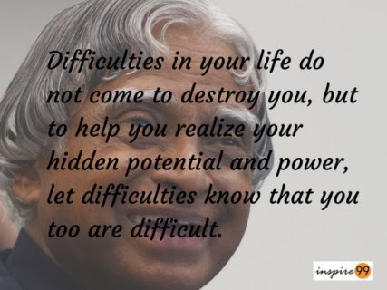 English Literature 14 Realistic Quotes By Apj Abdul Kalam