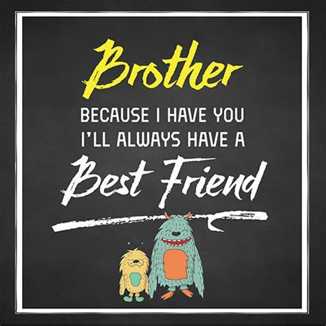 Brother   My Best Friend. Free Brother's Day eCards
