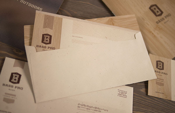 Bass Pro Shop Stationery by Fred Carriedo
