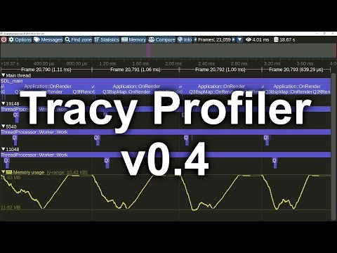 Tracy Profiler 0.4