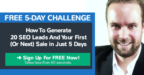 FREE 5-Day SEO Leads Challenge