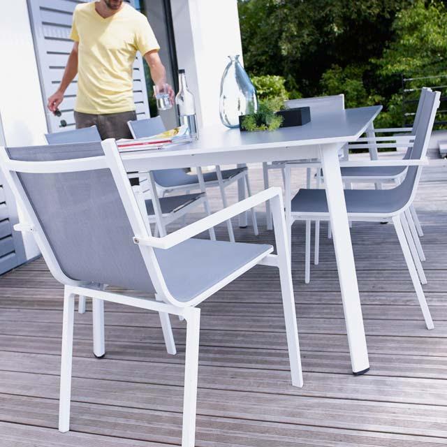 Table De Jardin Et Chaises Castorama