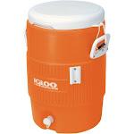 Igloo 42316 5 Gallon Seat Top Beverage Cooler - Orange
