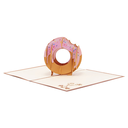 Donut Pop Up Card
