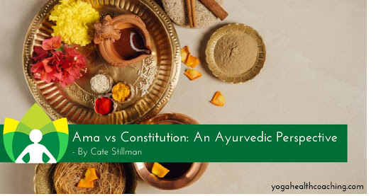 Ama vs Constitution: An Ayurvedic Perspective - Yoga Health Coaching