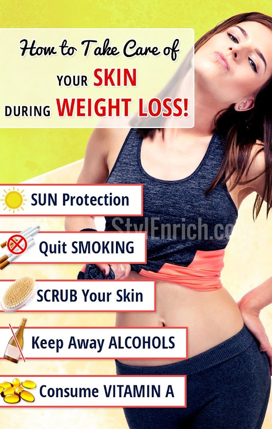 keeping skin healthy during weight loss