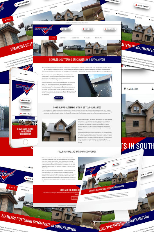 Continuous Guttering • Hostcat Web Design