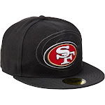 San Francisco 49ers New Era NFL 59FIFTY Sideline Cap - Men's Black