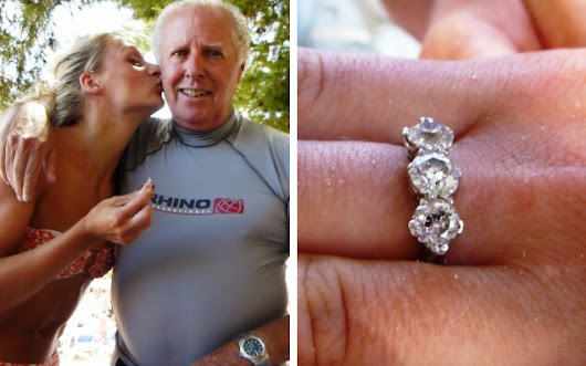 Student reunited with £10k diamond ring after flying specialist underwater metal detectorist all the way to Majorca