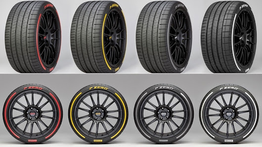 Pirelli offering colored tires, tires that talk to an app