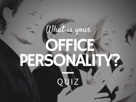 What is your office personality?