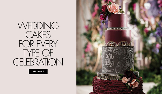 Cakes Ideas for 10 of the Most Popular Wedding Styles