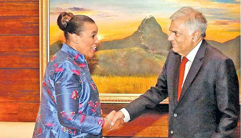 PM meets Commonwealth Secretary General Patricia Scotland