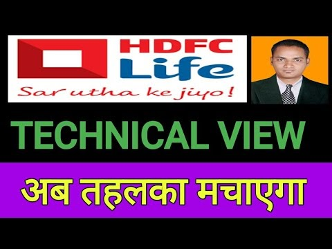 HDFC Life share technical Levels & Target | HDFC Life Share technical analysis | HDFC Life insurance