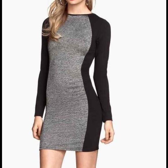 H&m bodycon mini dress couture tracksuit