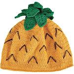 San Diego Hat Company Crochet Pineapple Beanie Hat Kid's