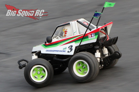 Tamiya Comical Grasshopper WR-02CB Review