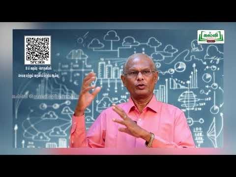 11th Economics செலவு மற்றும் வருவாய் பற்றிய ஆய்வு அத்தியாயம் 4 பகுதி 2 Kalvi TV