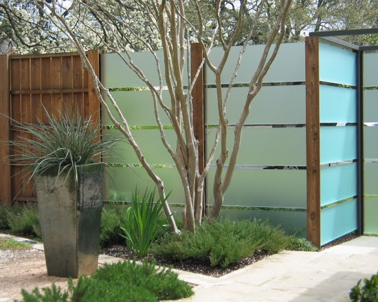 Contemporary Fences Design Ideas