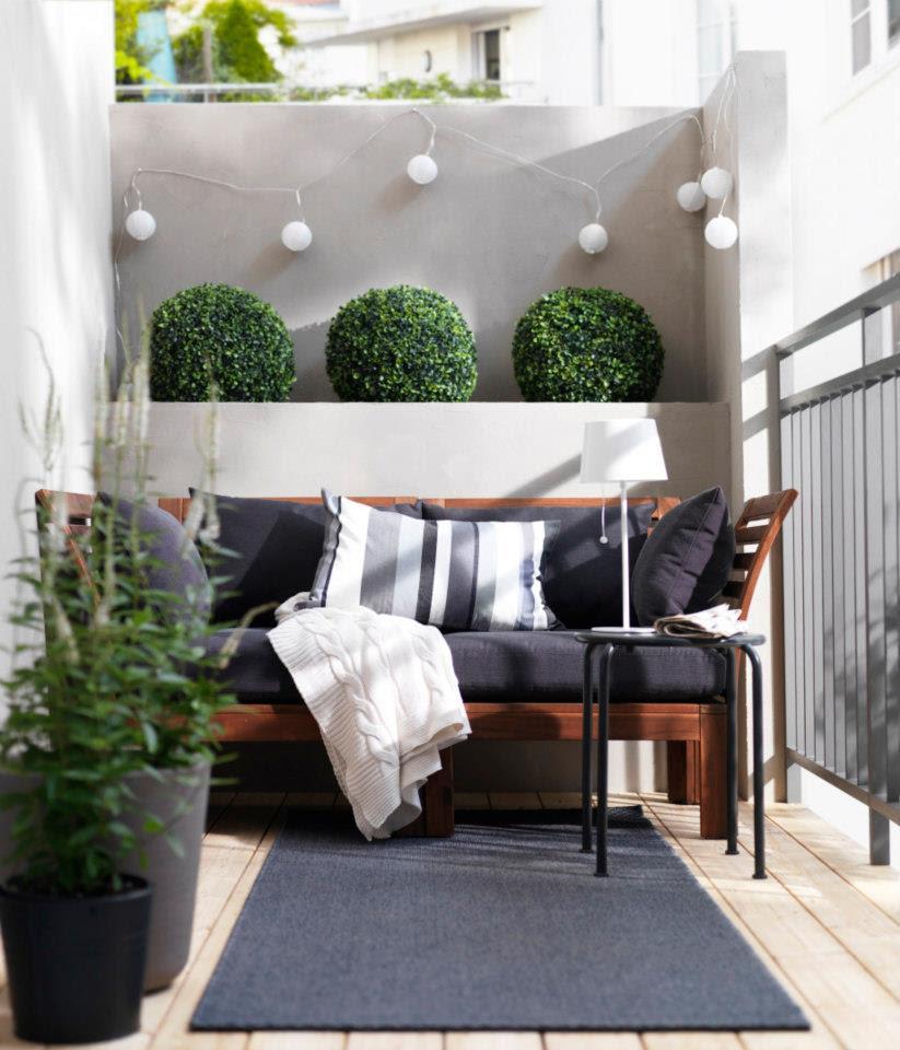 Balkon gestalten mit wenig geld  DEKO IDEEN FÜR KLEINEN BALKON - Adsense Para Kazanma | Propellerads