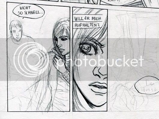 Comicseite in arbeit