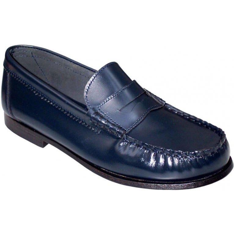 Startrite Penny Shoes   Girls Black Loafers   Charles Clinkard