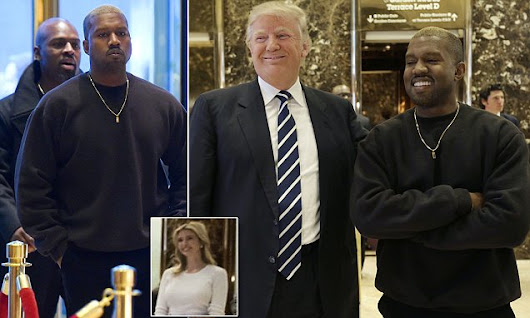 Donald Trump embraces friend Kanye West after 15-minute meeting