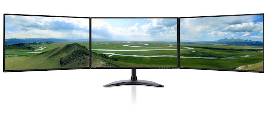 INCREASING PRODUCTIVITY WITH DIFFERENT MONITOR CONFIGURATIONS