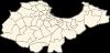 Carte de la wilaya d'Alger