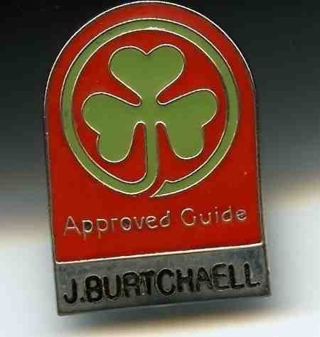 Jack Burtchaell's Walking Tour in Waterford City, Ireland. Bord Fáilte Approved Guide
